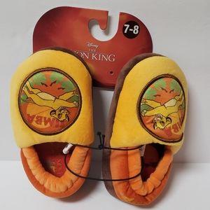 Disney The Lion King Simba Little Kids Slippers 8